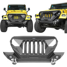 RRC Front Bumper for Jeep Wrangler TJ YJ 1987-2006 11502.11 Rugged Ridge