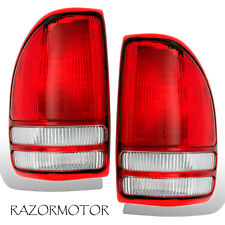 1997-2004 Replacement Tail light Lamp Housing Pair For Dodge Dakota Truck