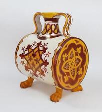 Red European Decorative Date-Lined Ceramics