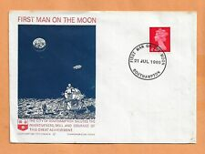 APOLLO 11 FIRST MAN ON THE MOON JUL 21,1969 SOUTHAMPTON  SPACE COVER