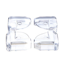 4 Glass Table & Shelf Corner Cushions Guards Protectors For Baby Child Safety