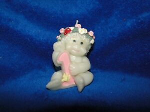 NEW DREAMSICLES VINTAGE ANGEL 1,2,3 Year old CAKE & PARTY SUPPLY CANDLES,