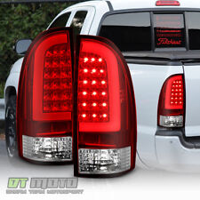 For 2005 2017 Toyota Tacoma Red Lens Led Tail Lights Lamps 05 15