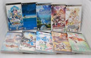 PSP Tales of Series 10pcs Mythology VS Rebirth Eternia Destiny 2 Phantasia Japan