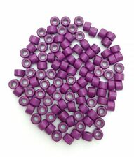Keramik Zylinder, lila, 6mm, 100 Stück, Keramikperlen