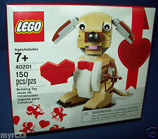 40201 Lego Valentine's Day Cupid's Dog 2016 HTF sold out NEW