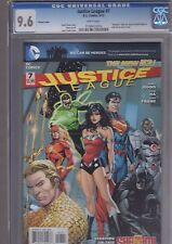 Justice League 7 Variant CGC 9.6 First Print