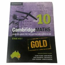 Cambridge Mathematics NSW Syllabus for the Australian Curriculum Year 10 S4/5.1