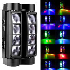 Spider Moving Head Stage Lighting 80W RGBW LED Beam DMX Disco Party DJ Lights