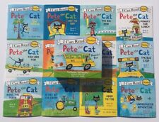 NEW Set 12 Pete The Cat Children's Books Phonics Kindergarten Learn To Read Lot