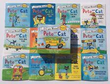 NEW Set 12 Pete The Cat Children's Books Phonics Kindergarten Learn To Read Lot