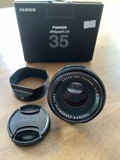 Fuji Fujifilm Fujinon XF 35mm f/1.4 R Lens MINT!