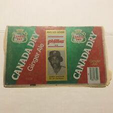 NEW 1979 GARRY MADDUX Philadelphia Phillies #31 Canada Dry Ginger Ale Can Flat