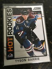 SCORE HOCKEY 2012-13 TYSON BARRIE HOT ROOKIES CARD 505 COLORADO AVALANCHE