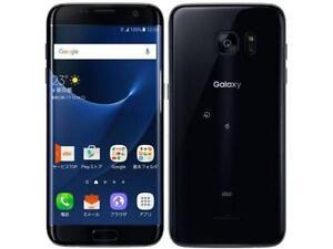 SAMSUNG SC-02H SCV33 GALAXY S7 EDGE ANDROID PHONE UNLOCKED BLACK NEW JAPAN VER