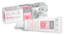 R.O.C.S. BABY PRO Toothpaste Mild Care CARIES PROPHYLAXIS 0-3 yo 98.5% Natural