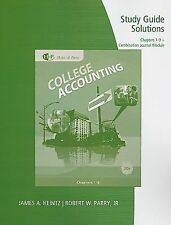 Study Guide Solutions, Chapters 1-9 for HeintzParry's College Accounting, 20th +