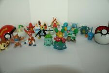Lot de 20 figurines POKEMON - FULL STARTER POKEMON + 2 Pokeball