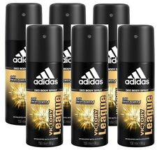 6x ADIDAS Victory League Deodorant 24h FRESH Power MEN Deo Body Spray 5 Oz 150mL