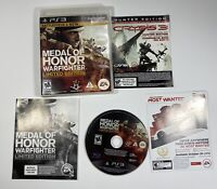 Medal of Honor: Warfighter Limited Edition (Sony PlayStation 3) PS3 With Manual