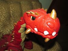 Fisher Price Imaginext Spike The Ultra Dinosaur w/ Remote Control Rare Red RC