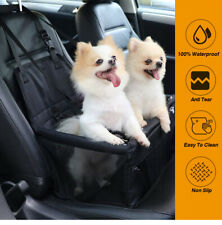 More details for pets large car booster seat dog/puppy travel safety carrier bag/bed 40*32*24cm