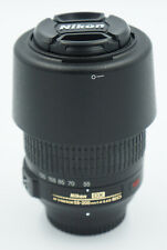 Nikon AF-S NIKKOR 55-200mm f/4-5.6 G DX VR ED Lens w/ Caps, Hood #698