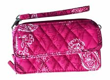 Vera Bradley All In One Crossbody for iPhone 6/6+ Wristlet, Stamped Paisley