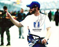 Dale Earnhardt Jr NATIONWIDE PRERACE 2016 autographed 8x10 photo *FREE SHIPPING*