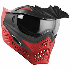 V-Force Grill Paintball Mask / Goggle -Scarlet (Grey/Red)