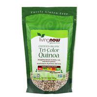NOW Foods Organic Tri-Color Quinoa, 14 oz.