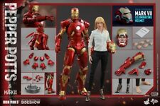 =MIB= 1/6 Hot Toys Iron Man Mark IX(9) & Pepper Potts Exclusive Retired