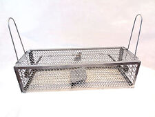 1 x Large double Entry Rat Spring Cage Trap Humane Large Live Animal Rodent