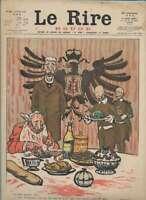 Journal Le RIRE Rouge, édition de guerre N° 83 du 17 juin 1916