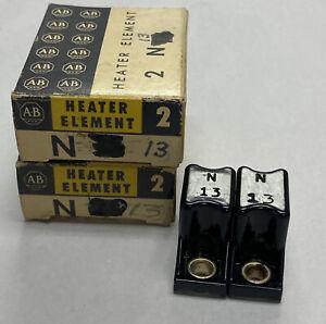 Allen-Bradley N13 Heater Element Lot Of 6 NOS