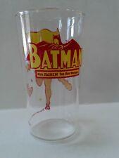 Robin Batman Glass Vintage 1970's DC Comics National Periodical Publication Inc.