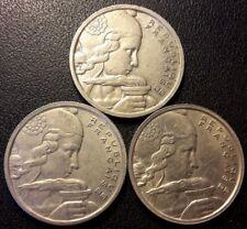 France - IVème République - lot de x3 100 francs Cochet 1954 à 1955 !