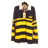 Canterbury of New Zealand - Men's Medium Navy Rugby Football Long Sleeve Shirt
