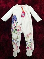 BNWT Ted Baker Baby Girls Sleepsuit - Age 12-18 Months lilac