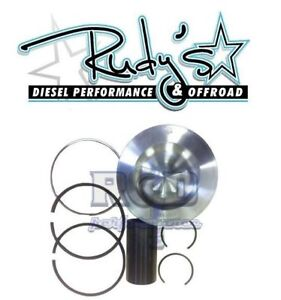 Rudys Diesel HD International Navistar Piston Set For 08-10 Ford 6.4 Powerstroke
