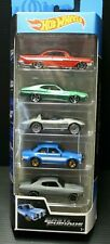 2019 Hot Wheels 1/64 Fast and Furious 5 Cars Pack 1/64 Diecast Model Cars