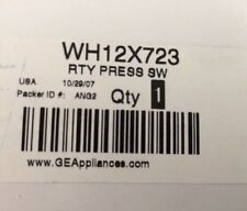 NEW Genuine GE WH12X723 Washer Water Level Pressure Switch