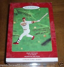 MARK MCGWIRE - FIFTH IN SERIES - AT THE BALLPARK - NEW IN BOX 2000 ORNAMENT
