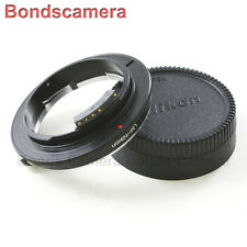 Macro AF confirm Leica M L/M Lens LM to Nikon F mount Adapter Camera D600 D5200