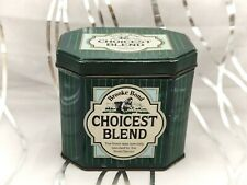 More details for brooke bond choicest blend-small green vintage tea tin/caddy