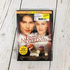Finding Neverland (DVD, 2005, Full Frame) Johnny Depp, Kate Winslet - NEW
