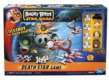 Angry Birds Star Wars Death Star Jenga Game Toy Destroy pigs Kids Gift  Hot