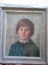 Oskar H. Hagemann Portrait eines Mädchens , Ölgemälde