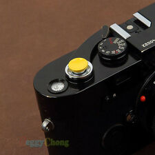 Yellow Metal Soft Shutter Release Button for Fujifilm Leica M4 M6 M7 M8 M9 #13