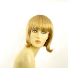 Perruque femme courte blond clair doré ALISEE LG26